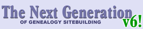 The Next Generation of Genealogy Sitebuilding